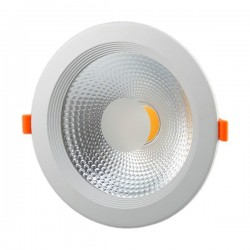 Downlight D166mm COB 15W 1200Lm Warm White 145° OPTONICA