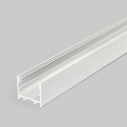 Hliníkový profil pre LED pásy - konštrukčný VARIO30-02 biely lakovaný