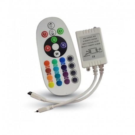 RGB-IR Controller 24 keys DC12/24V 6A VT-2472