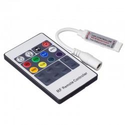 RGB-RF MINI Wireless Controller 20 keys 12/24V 3x4A