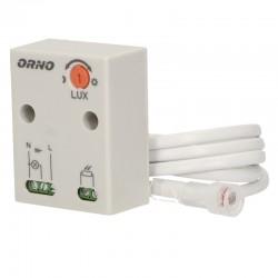Súmrakový spínač osvetlenia AC 230V 10A ORNO OR-CR-233