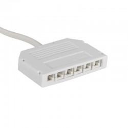 Rozbočovač napájania/Spliter-Single color 6-way MINI PlugBox Kanlux