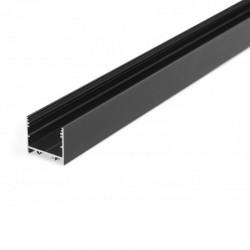 Hliníkový profil pre LED pásy - konštrukčný VARIO30-02 Black 2m