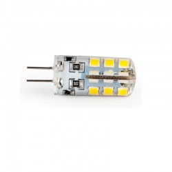 G4 24LED SMD2835 3,2W 320Lm Cold White DC12V Silikon LUMENIX