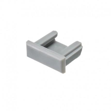Koncovky pre hliníkový profil MINILUX plné/pár