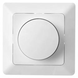 Stmievač nástenný EMOS  pre regulovateľné LED žiarovky pre otočné ovládanie a tlačidlové spínanie