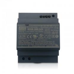 LED napájací zdroj 24V-10W Mean Well HDR-100-24-N DIN