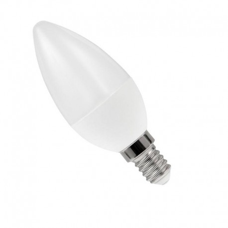 LED žiarovka E14 C37 LED 6W 475Lm Cold White HEDA