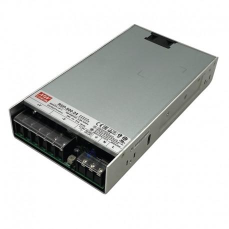LED napájací zdroj 24V-504W Mean Well RSP-500-24