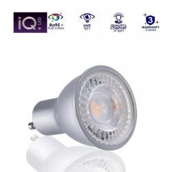LED žiarovka GU10 7W 580Lumenov Studená biela CRI95 120° Kanlux-IQ