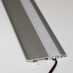 Hliníkový profil pre LED pásy SOKEL 60x10mm ELOX