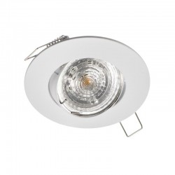 Rámček výklopný okrúhly GAMA-R PremiumLUX - biely