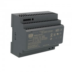 LED napájací zdroj 24V-15W Mean Well HDR-150-24 DIN