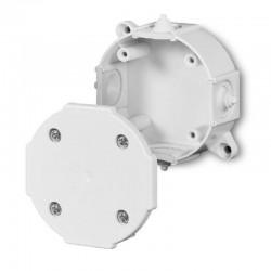 Elektroinštalačná krabica prisadená Ø80mm IP41 biela