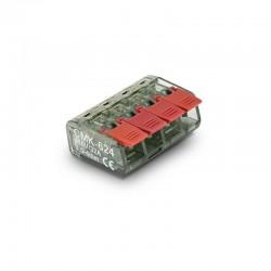 CMK svorka bezskrutková COMPACT 4x0,5-4mm² 450V 32A