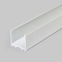 Hliníkový profil pre LED pásy - konštrukčný VARIO30-08 biely lakovaný