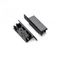 Koncovky pre hliníkový profil VARIO30-06 plastové - čierne/pár