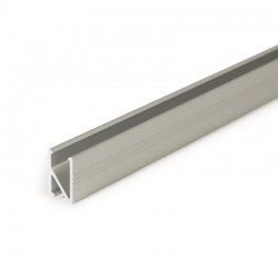 Hliníkový profil pre LED pásy na zafrézovanie HI8 - ELOX