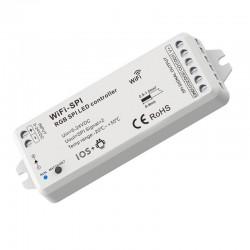 WiFi SPI kontrolér pre digitálne RGB LED pásy RGB SKD-WiFi/SPI