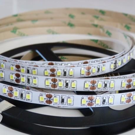 Flexibilný LED pás 120LED SMD2835 9,6W  720 Lumenov Teplá biela farba svetla 3000K CRI90 DC12V 8mm