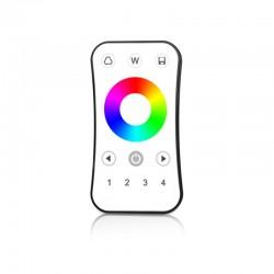 Diaľkový ovládač RGB/RGBW 4-zónový pre RF prijímače SKYDANCE - SKD-RA8
