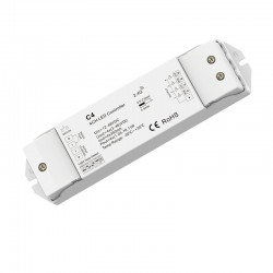 RF prijímač riadenia LED DIMM, CCT, RGB, RGBW 4x350mA DC12-48V SKD-C4