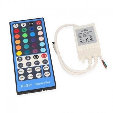 RGBW-IR Wireless Controller 40 keys DC 12/24V 8A LEDLine