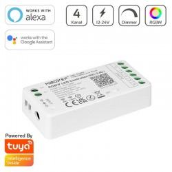 WiFi/RF/Bluetooth prijímač pre riadenie LED pásov RGBW 12A DC12/24V MiLight FUT038W