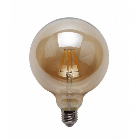 E27 G125 Filament LED 4W 380Lm Warm White 2700K PremiumLUX