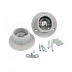 Plastové bočné montážne úchyty pre profil OVAL