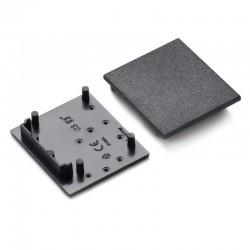 Koncovky pre hliníkový profil VARIO30-03 - plast - čierne/pár