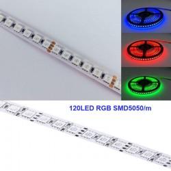 Flexibilný LED pás RGB SMD5050 120LED/m 19W/m 24V EPISTAR 10mm