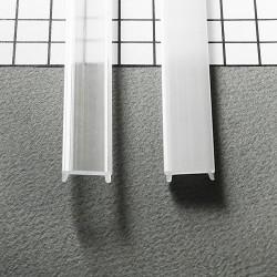 Transparentný naklikávací difúzor C-CLICK pre profily SURFACE, CORNER, GROOWE, OVAL, TRIO, UNI12, BEGTON12