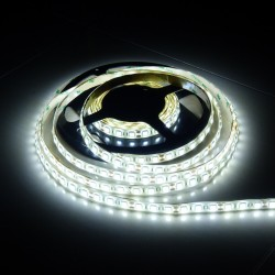 LS 72LED SMD5050 15W 1150Lm Cold White 12V IP65 (by drip gum)