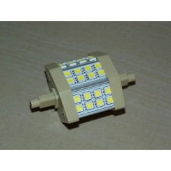 R7S - 78mm 24LED SMD5050 5W 400Lm Warm White