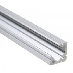 Hliníkový profil pre LED pásy ROHOVÝ 19x19mm ELOX