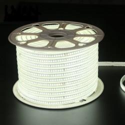 Flexibilný LED pás 144LED SMD2835 16W/m 1320Lm AC 220/240V Cold White IP65 90°