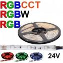 LED pásy RGB, RGB+W, RGBW, RGB+CCT flexibilné
